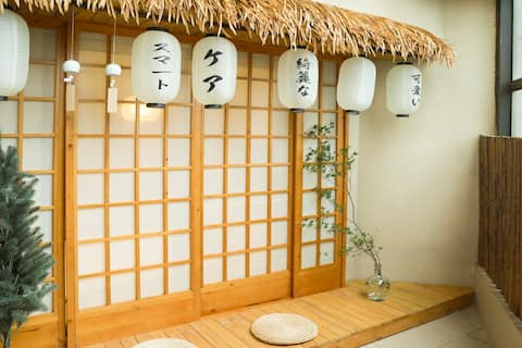 Junglehouse•鸭川 | 秒到太古里春熙路,带庭院的高档公寓,日本进口床垫,中央空调暖暖和和