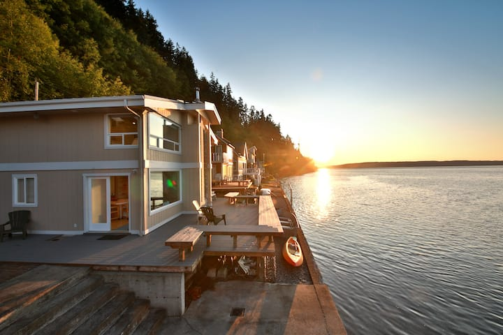 New Listing! Beachfront Escape on Whidbey Island