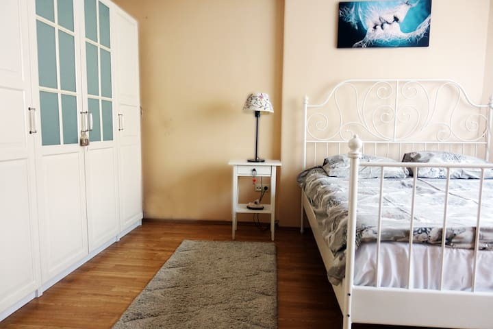 Cozy Double Room in the City Center