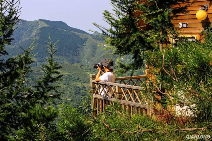 窗外观山 * 森林三人观山房 - Beijing - Villa