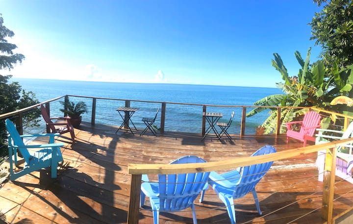 HiddenStudio Oceanview,Private Beach Access Rincon