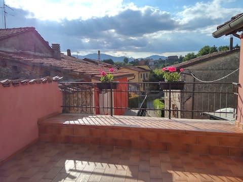 Encantadora casa de campo 35 minutos de Lucca