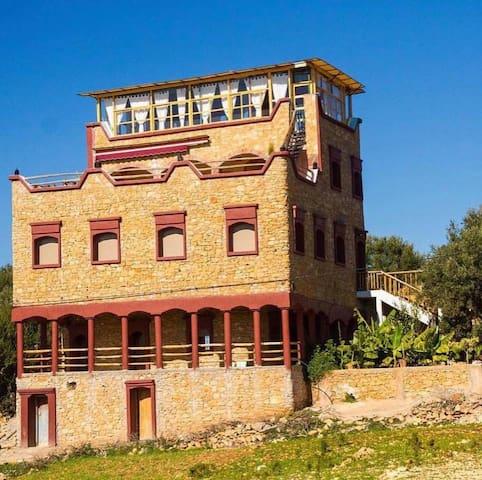 Villa au calme&piscine privée 13 min Taghazout