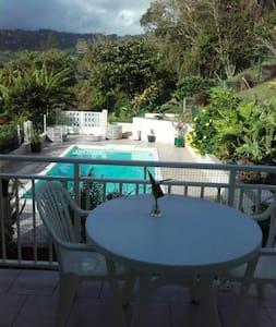Chambres calmes Villa Ô vert - Le Marigot - Casa