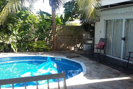 TAHITI : Studio dans propriété - Paea - Wohnung