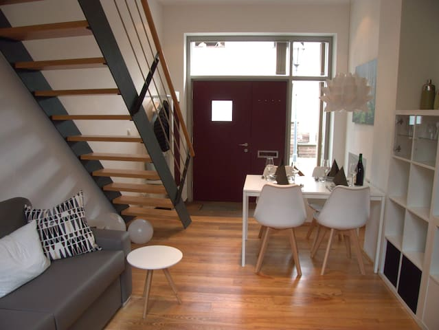 Sonniges Apartment in der Altstadt von Höxter - Höxter - Appartement