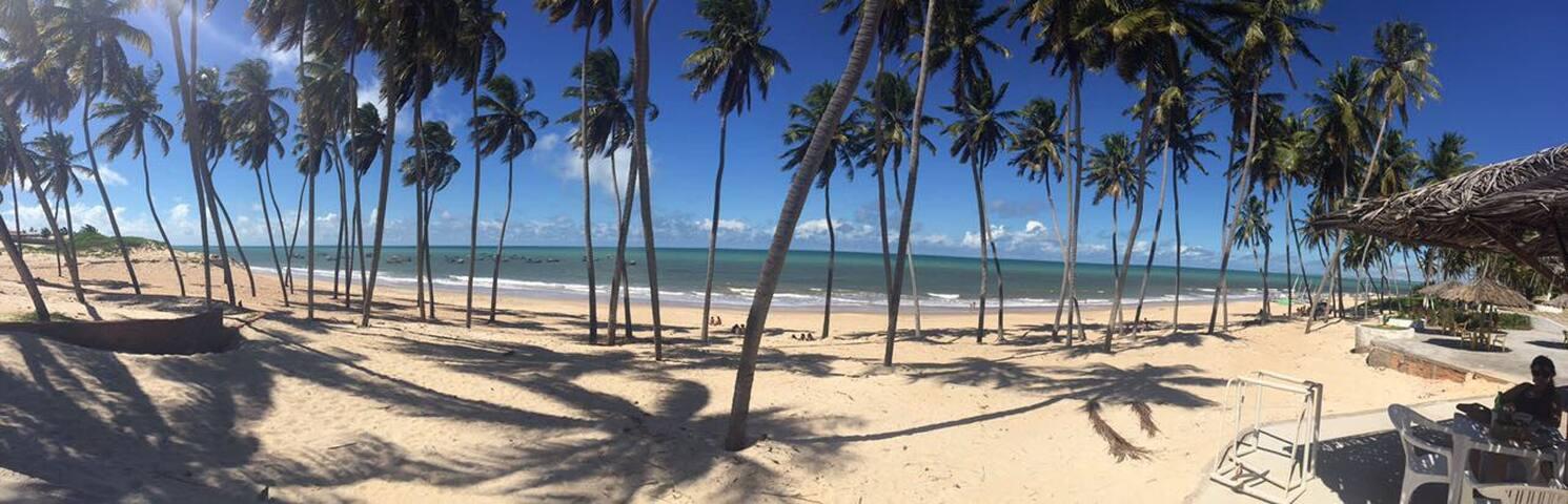 Casa a beira mar em zumbi /punaú- Rn. Um Paraíso