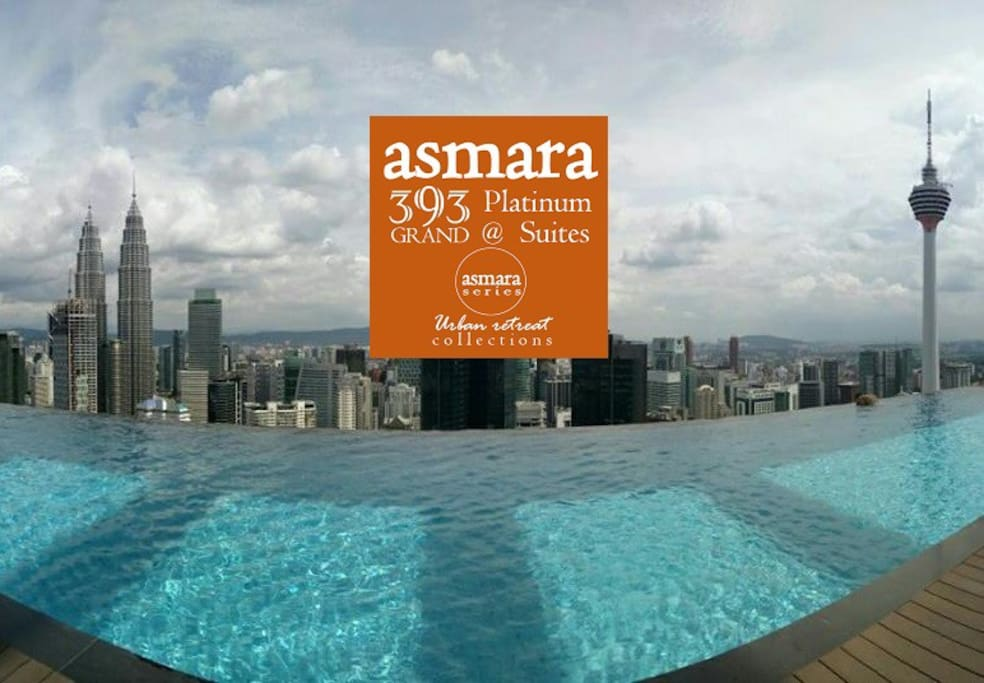 This panoramic view towards KLCC and KL is awaiting you at the highest rooftop infinity swimming pool @ L51 in Kuala Lumpur! 免费欣赏这51楼的超级美景吧! 这是吉隆坡到目前为止最高的泳池公寓。选择我们可以免费任您畅游!