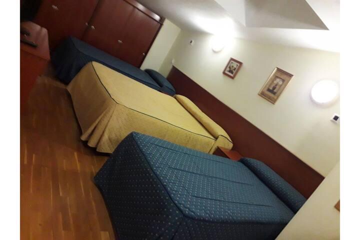 Family Room in OYO Hotel Villa De Lerma