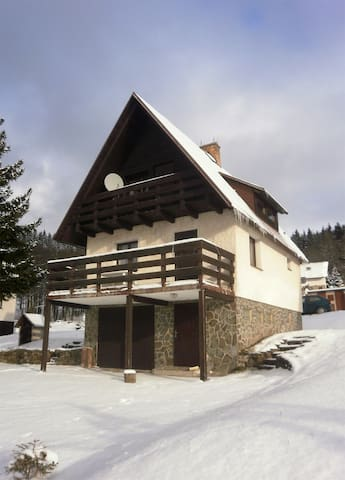 Comfortable cottage in Ore Mountains - Jáchymov - Alpstuga