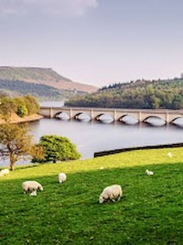 Explore the Peak District National Park and enjoy the views, walks, cycling etc