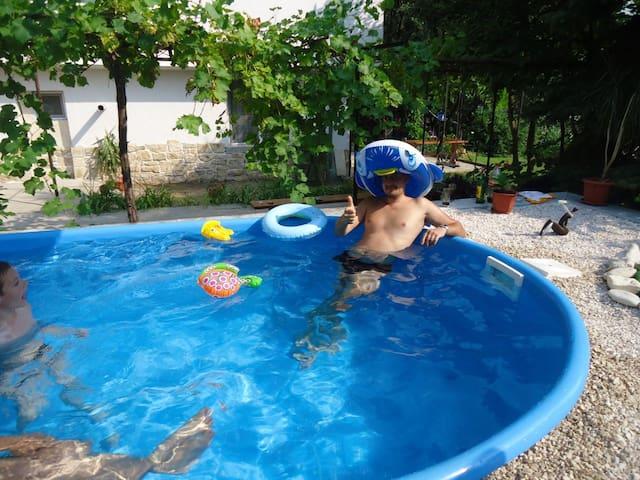 Quiet Varna villa with pool and bio garden
