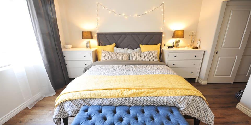 Modern & Spacious 1-Bedroom Condo