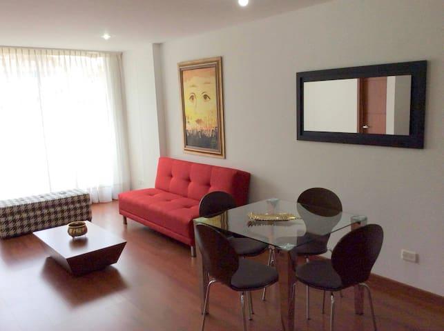 La mejor opción para descansar y conocer. wifi! - Bogotá - Apartamento
