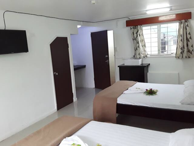 Comfortable peaceful place for transit and stays