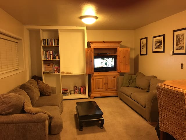 Cozy apartment 5 min to Squaw Vly. - Olympic Valley - Casa
