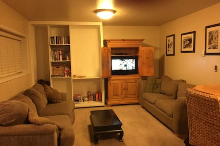 Cozy apartment 5 min to Squaw Vly. - Olympic Valley