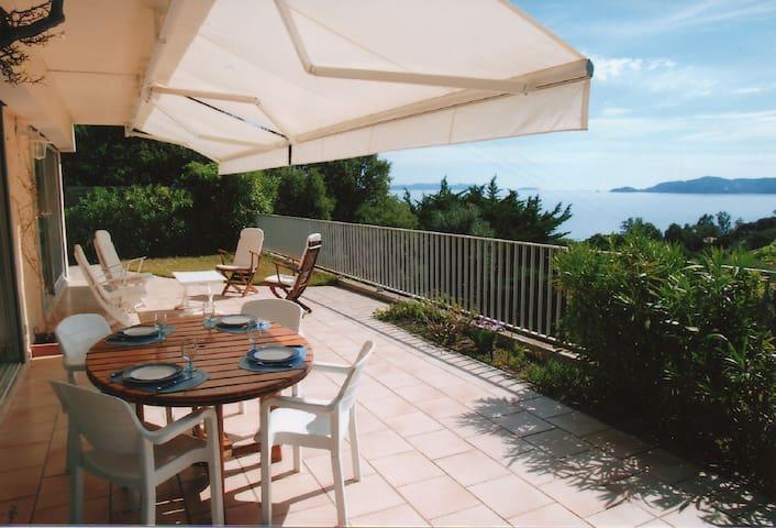 Villa indépendante vue mer La Fossette - Le Lavandou - Villa