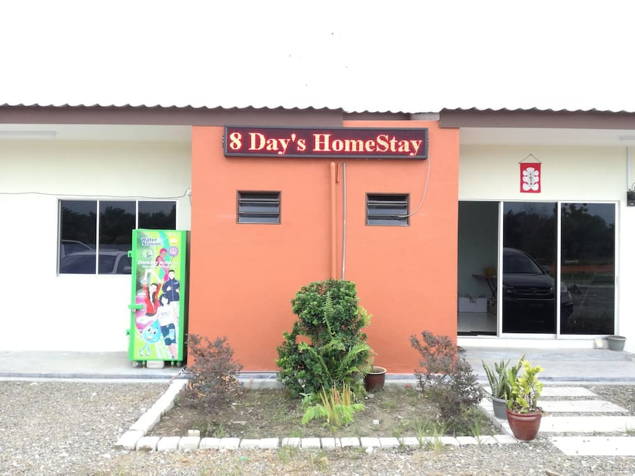 Welcome to 8day's homestay.