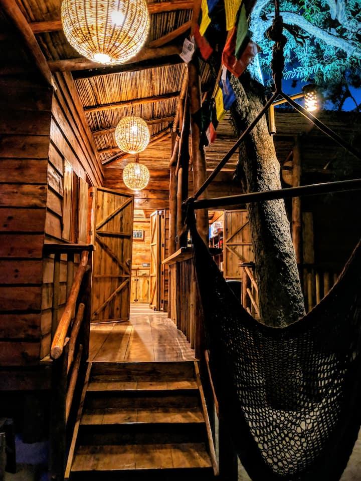 Casa La Aventura Eucalyptus Cabin, Playa Guasacate