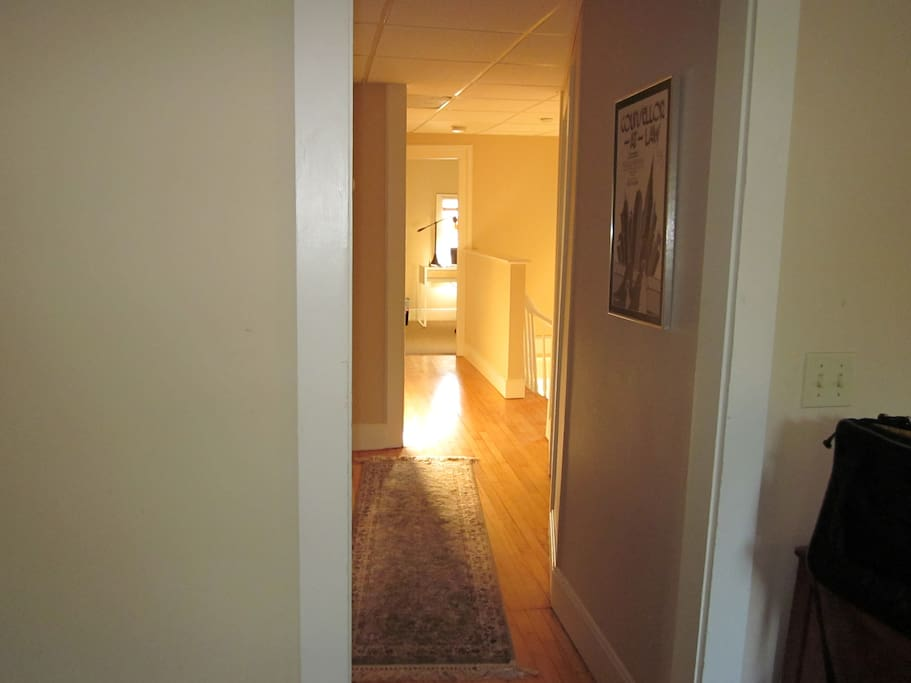 The natural light floods the entire apartment. The sounds of the rushing green river and the natural light brightening your day, it is the perfect relaxing get-away.