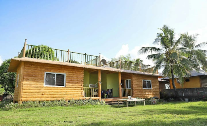 BEACHFRONT HOUSE in ZAMBALES (WHOLE AREA)