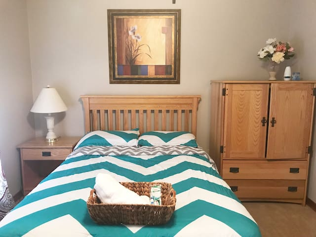 Comfortable and clean guest room