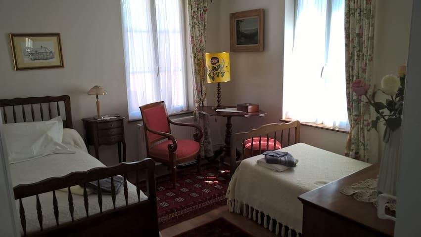 Chambre 2 couchages, centre ville - Criquetot-l'Esneval - Dům