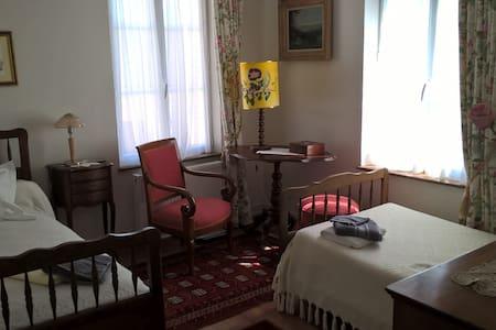 Chambre 2 couchages, centre ville - Criquetot-l'Esneval - Huis