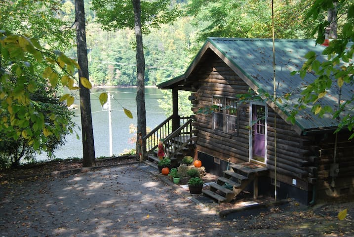 Cedar Cliff Beach Cabin, Tuckasegee, NC
