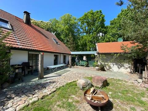 Cerca del Mar Báltico en Estate Löbnitz - Equitación estable al lado