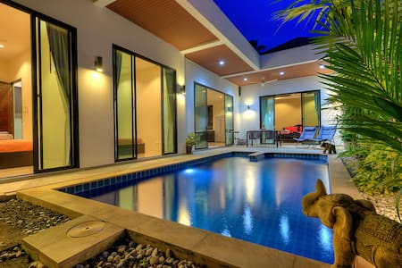 Exclusive Pool Villa, nature and calm, 3br