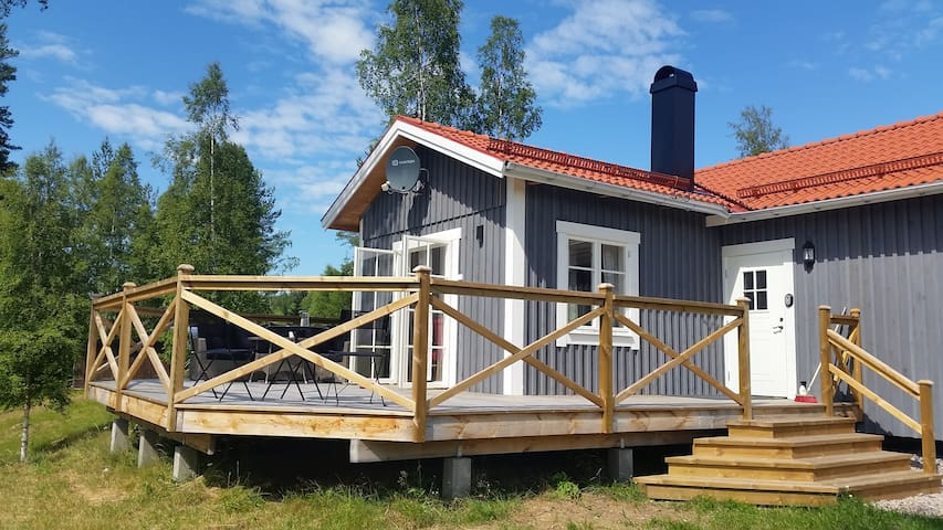 Modern cottage close to ski tracks in Oxberg, Mora