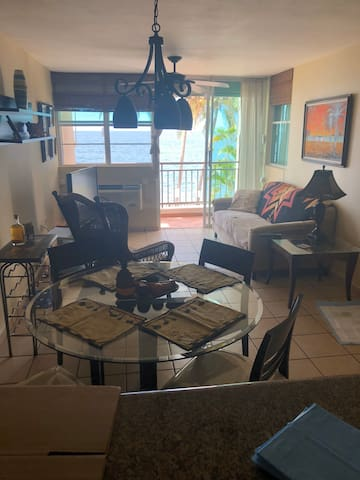 Beautiful beach front furnished apartment