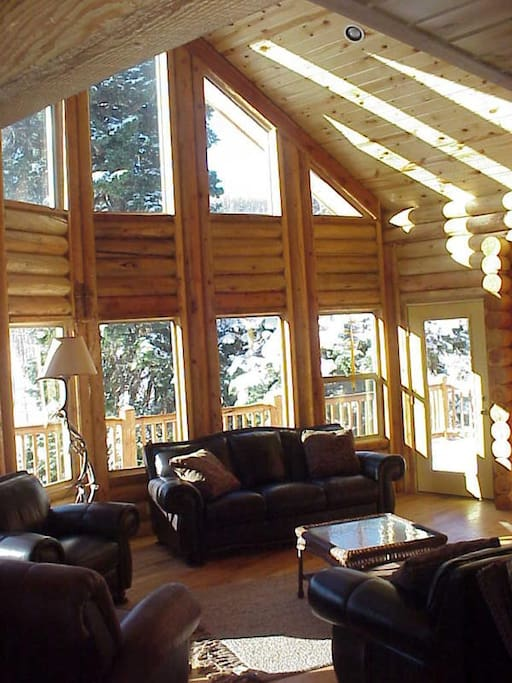 Large Cabin Located Near Park City Cabins For Rent In