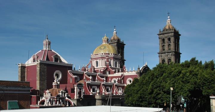 Best location in Puebla! Special monthly discount!