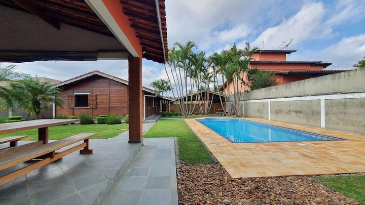 Casa Condomínio - Fazenda da Ilha / Embu-Guaçu