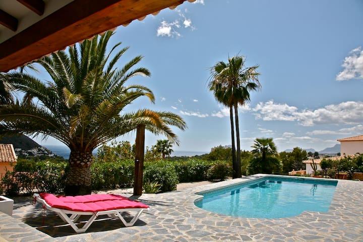 Villa avec piscine privée et vue sur la mer - Teulada - Maison