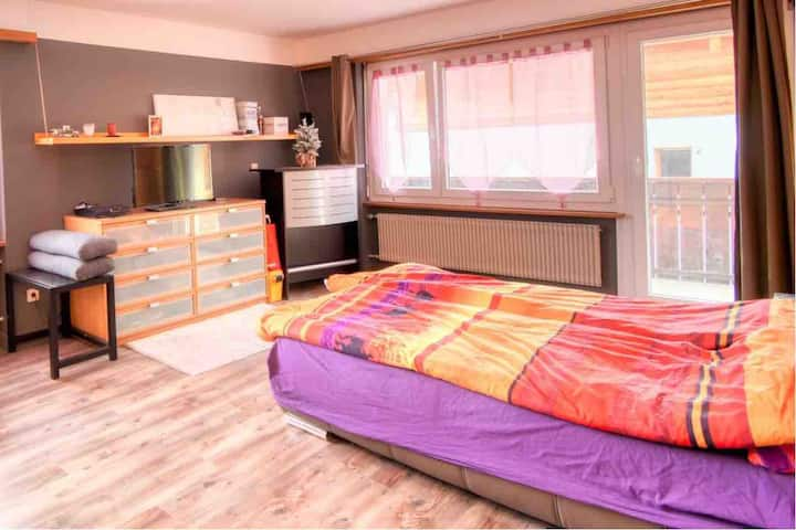 Cosy large condo in center Saas-Fee, stunning view