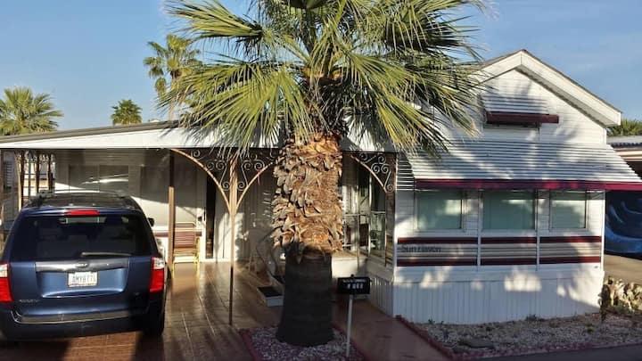 Mesa Spirit 55+ resort living place for rent.