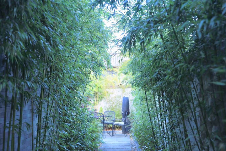 「竹.影」独栋别墅 家庭度假 带院子露台 两居室 近大理古城