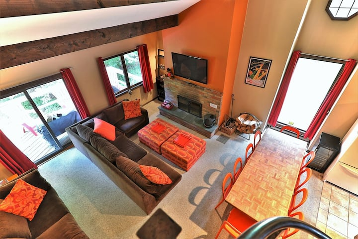 Champagne Chalet: Killington Ski House Perfect for Groups. Free Cancellation