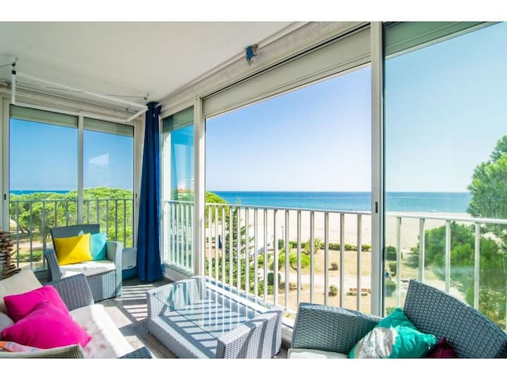 Argelès-sur-mer : Appartement avec accès mer (20m)