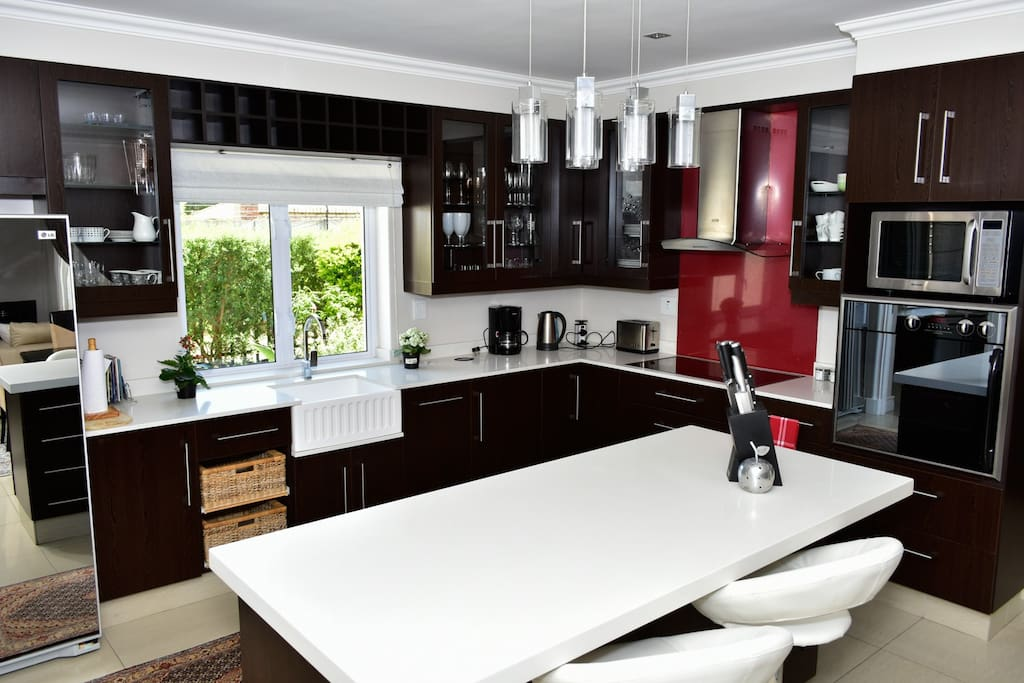 Kitchen with ample working space