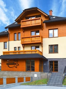 Apartmán s kuchyňkou v penzionu Sasanka - Oščadnica - Hus