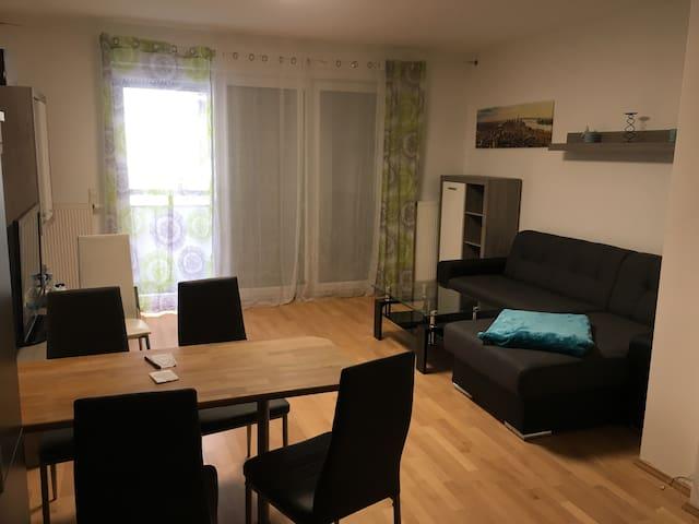 Wohnzimmer Esstischbereich