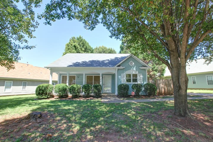 3BR House with Fenced Yard—Next to Music Factory!