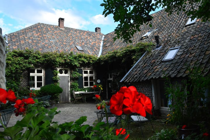 Scheune aus dem 19. Jahrhundert auf dem Bergerhof