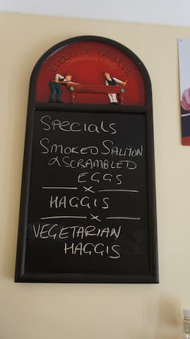 Breakfast Specials Board