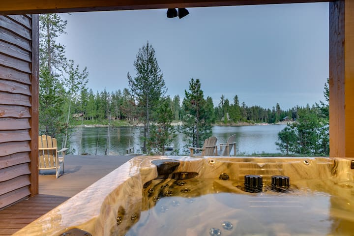 Hot Tub off Master Bedroom